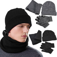 Best Gifts For Mens Touch Screen Gloves And Warmer Scarf With Winter Beanie Hat