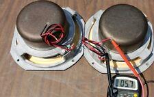 "Vintage Early JBL LE8-1 8"" Full Range Speakers Pair LANSING L75 L44 66 L54 Read"