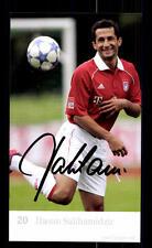 Hasan Salihamidzic Autogrammkarte Bayern München 2005-06 Original Sign+ C 2554