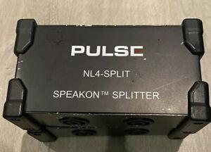 Pulse Speakon Splitter NL4 Split X 2