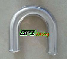 "2.5"" 63mm 180 Degree Aluminum Turbo Intercooler Pipe Piping Tube Tubing L=600mm"