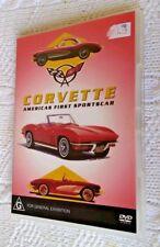 CORVETTE: AMERICAS FIRST SPORTSCAR (DVD) R-ALL, LIKE NEW, FREE POST IN AUSTRALIA