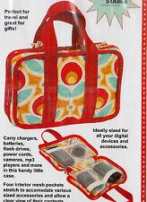 PATTERN - Tech Tote - organizer bag PATTERN - Patterns by Annie