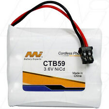 3.6V Replacement Battery Compatible with Panasonic N4HKGMB00001