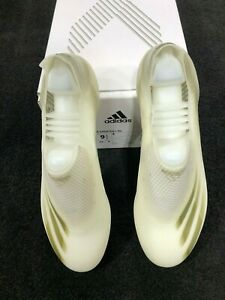 Adidas X Ghosted + FG Men's Soccer Cleats EG8249 Cloud White New in Box!