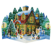 Winter Wonderland Home Pop Up Christmas Greeting Card