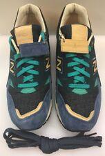 New Balance x Social Status Men 9.5 D CM1600SS Winter Hamptons Blue Green Tan
