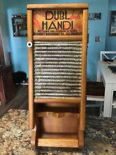 Rare! Dubl Handi Washboard - Hanging Cabinet - Towel Rack