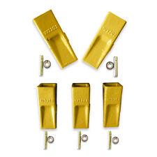 1U3202-5 pack Cat Style5-Bucket Teeth/Bucket Tooth & 5 9W7112 Pins 5 8E6209 ret