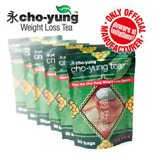 Cho Yung Weight Loss Tea - Flat Tummy Teatox Cleanse (6 packs x 30 tea bags)