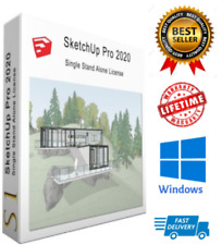 SketchUp Professional - CAD Design - Pro 3D Modeling  MACOS and WI10
