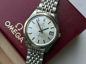 Omega Seamaster Automatic 168.0061 RARE w/ Box and Beads of Rice From 1972
