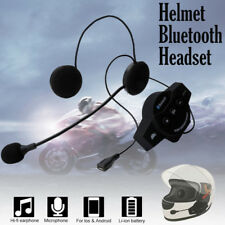 Rechargeable Motorcycle MotorBike USB Bluetooth Headset Handsfree Headphone