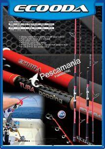 Canna ECOODA Tura popping spinning pesca al tonno heavy action fuji KR