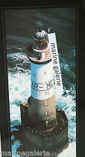 phare breton ar men Bretagne déco marine poster photo couleurs en hauteur 67cm