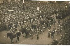 WW1 FOTO FUNERALE PROCESSIONE SALMA MILITE IGNOTO