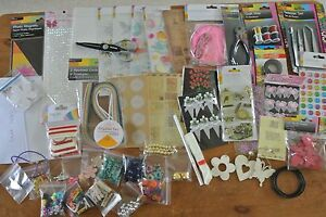 Bargain Crafting Super joblot - All new items - Clearance Scrapbooking 50 Items