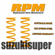 Suits Toyota Prado 90 95 4WD Coil Springs Rear Raised Height HD