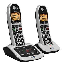 BT 4600 Twin Dect Telephone With Answer Machine