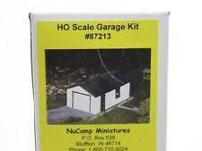 Garage Building NuComp Miniatures 1:87 HO 87213 Kit