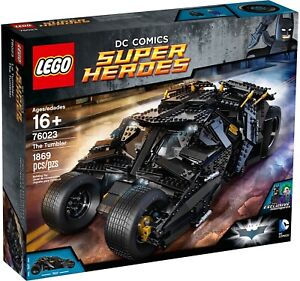 New Sealed Lego DC Super Heroes 76023 UCS The Tumbler