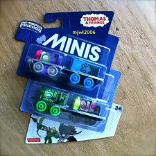 THOMAS & FRIENDS MINIS DC SUPER STARFIRE BLUE BEETLE GREEN ARROW BRAINIAC 4PACK