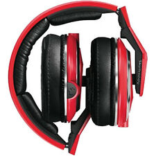Original Red Skullcandy Unisex DJ Mix Master Over The Ear Wired Headphones & Mic