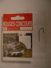 10 HAMECONS montés Rouge Concours  T. 20