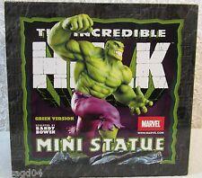 "8.5"" The Incredible Hulk Mini Statue/Figurine Sculpted Randy Bowen Green Version"