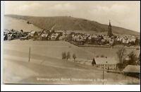 Oberwiesenthal Sachsen DDR Postkarte 1950/60 Erzgebirge Panorama im Winter