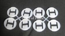 Tupperware NEW Sock Sorter Sorters Set Lot Of 8 Individual Sheer Gadget