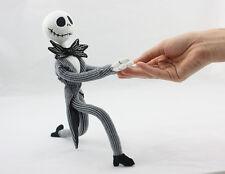 "New Nightmare Before Christmas Jack Skellington Poseable Plush Stuffed Toy 13"""