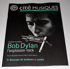 Magazine Cité Musiques N° 68 01/2012 Bob DYLAN / Paris Exhibition * EX+