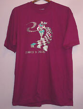 NEW Vintage 80s Shakes n Skates The Last American Diner Boulder Co T Shirt XL