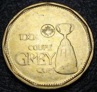 2012 - $1 - Grey Cup - BU ( from a new roll ) - Error - Weak Struck Reverse