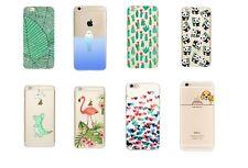 Handy Hülle für iPhone 5 5S SE 6 6S 7 8 X Plus Handyhülle Case Cover Silikon TPU