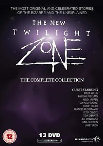 THE NEW TWILIGHT ZONE COMPLETE SERIES- 1980s REMAKE DVD