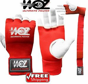 Fist Gel Bandages Inner Boxing Quick Hand Wraps Gloves MMA Muay Thai Straps