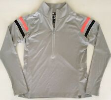 Victoria's Secret PINK New Ultimate Deep Zip Large Jacket  Pullover Gray NWT