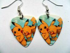 Cute Pokemon Pikachu  Guitar Pick // Plectrum  Earrings b