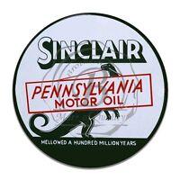 Vintage Design Sign Metal Decor Gas and Oil Sign - Sinclair Pennsylvania Oil