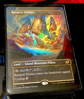 RAUGRIN TRIOME ___/___ FOIL RARE! ___/___ SHOWCASE FULL-ART Ikoria Magic MTG