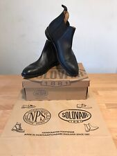 NPS SOLOVAIR Stanley Black Leather Chelsea Boots! Size UK11! New! Only £169.90!