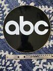 Large Vintage Original ABC Network Camera Sticker Decal Unused New Old Stock