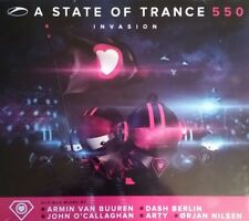"""Various  """"A State Of Trance 550 Invasion"""" * ARMA325 / 5 CD-Box mixed"""