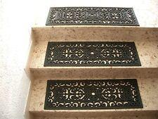 Stufenmatte Treppe Gummi Gummimatte Fußmatte Gussoptik 75x25cm Innen / Außen