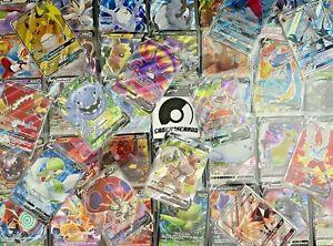 50 Pokemon Karten Deutsch Sammlung 5 HOLO & GX / V GARANTIERT BOOSTERFRISCH MINT