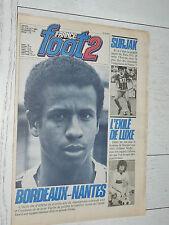 FRANCE FOOT 2 N°174 1981 FOOTBALL CASTANEDA ASSE SURJAK PSG ONNIS PAILLADE SIX