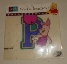 Winnie the Pooh  Iron on Transfer - P is for Piglet