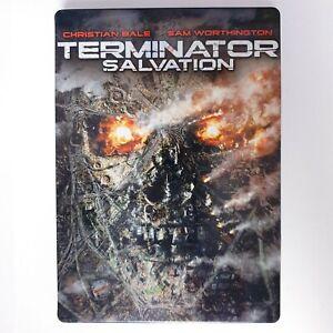 Terminator Salvation Steelbook DVD R4 AUS Free Post - Action Christian Bale